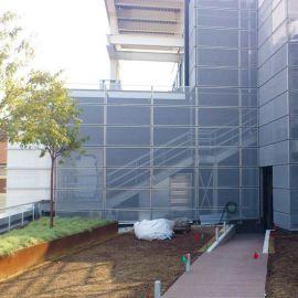 鋁板衝孔裝飾網 4s店外牆幕牆裝飾網 裝飾網