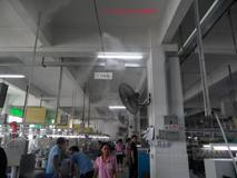 广东潮州揭阳云浮通风降温设备,喷雾降温,喷雾景观人造雾