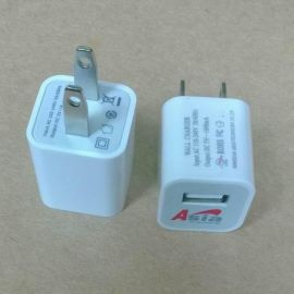 UL认证迷你USB充电器, USB充电器5V1000mA长时间使用也是1A