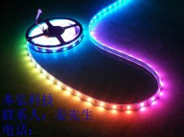 5050幻彩软灯条, LED幻彩灯条, 流星雨, 1606IC驱动, RGB单灯可控