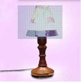 新款磁悬浮台灯工艺品礼品家居    粉色花台灯    高品质