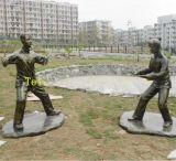 公园人像雕塑|公园景观雕塑小品|公园仿古铜人像雕塑