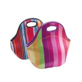 潜水料午餐包防水保温,卡通午餐包,户外野餐袋