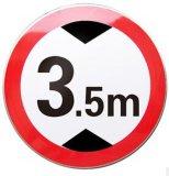交通标志牌,限高标志牌,限速禁令标牌