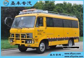 东风四驱电力工程客车,四驱越野特种电力工程车