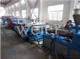 PVC结皮发泡板设备生产线