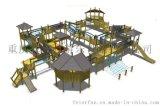 組合滑梯, 重慶組合滑梯, 重慶大型組合滑梯廠家