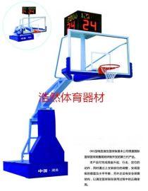 供應浙江熱銷電動液壓籃球架批發廠家籃球架HR-1001