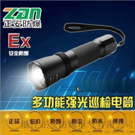 JW7623/HZ多功能强光防爆手电筒 巡检电筒