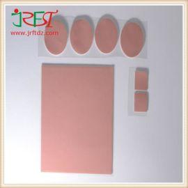 进口高导热硅胶片红色CPU散热硅胶垫片