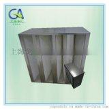 塑框V型大风量组合高效过滤器(厂家发货直销)