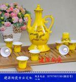 陶瓷酒具生產廠家 定做酒杯 自動陶瓷倒酒具批發