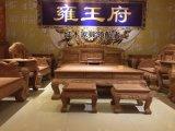 東陽紅木紅木傢俱/紅酸枝/百獅圖沙發/廠家直銷
