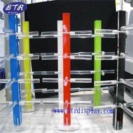 深圳厂家低价批发太阳眼镜架多种颜色眼镜展示架有机玻璃眼镜架