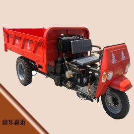 五征时风同款柴油三轮车 建筑工地翻斗车 25马力自卸式工程三轮车