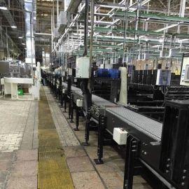 栀浦 链板输送 灌装线 平板式链板 塑钢链板线 输送线