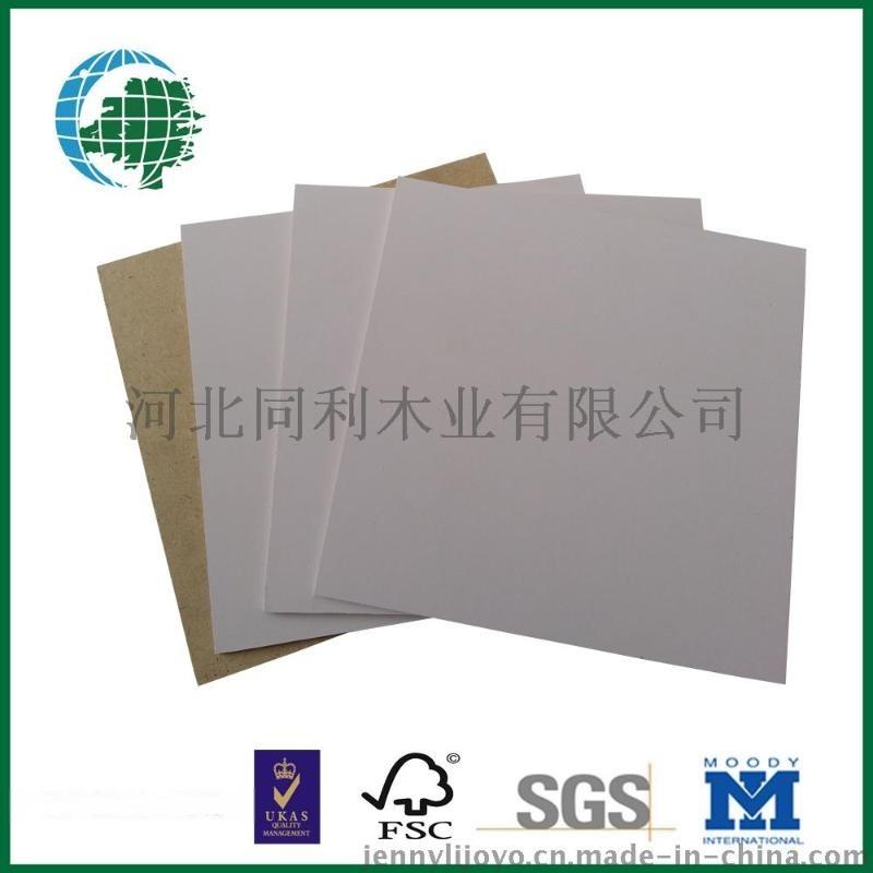 白色贴面密度板纤维板