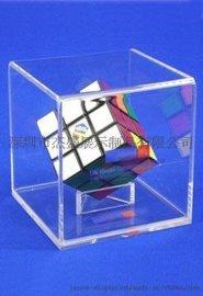 亚克力正方体盒,有机玻璃全透明盒,产品包装盒,展示盒