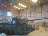广州玻璃钢仿真坦克雕塑 树脂大型坦克模型摆件厂家