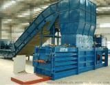 臥式打包機 180半自動廢紙打包機價格  鄭州漫星