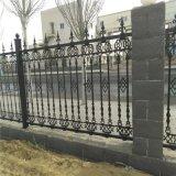 定做复古式别墅铸铁围墙护栏学校铁艺护栏小区玛钢围栏