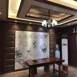 山東廠家 直銷3d5d客廳餐廳集成牆板背景牆裝飾畫