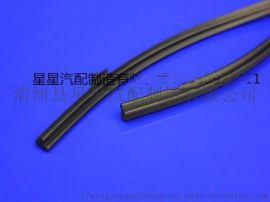 异形设备硅橡胶密封条黑色 丁字型硅胶密封条