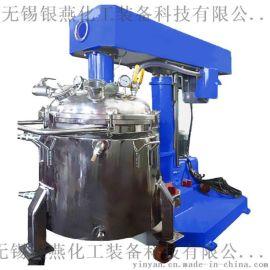 变频调速液压升降乳胶漆高速分散机