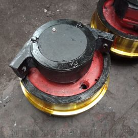 生产加工定车轮组  双缘整体淬火调质锻钢车轮组