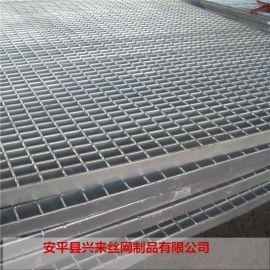 格栅板楼梯 电厂踏步板 钢格栅板规格型号