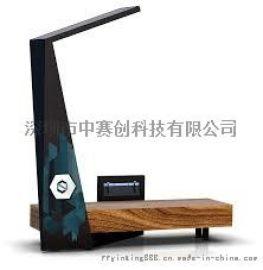 一个太阳能躺椅充电站太阳能座椅