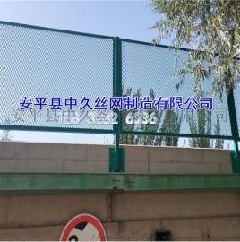 圈地养殖双边丝围栏网 浸塑公路安全防护网围墙护栏网