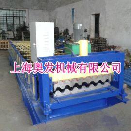 上海供应750彩钢瓦压型设备、金属冷弯成型机