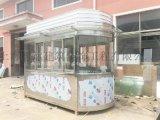 廠家直銷收費崗亭不鏽鋼值班室小區門衛崗亭收費崗亭崗亭定製