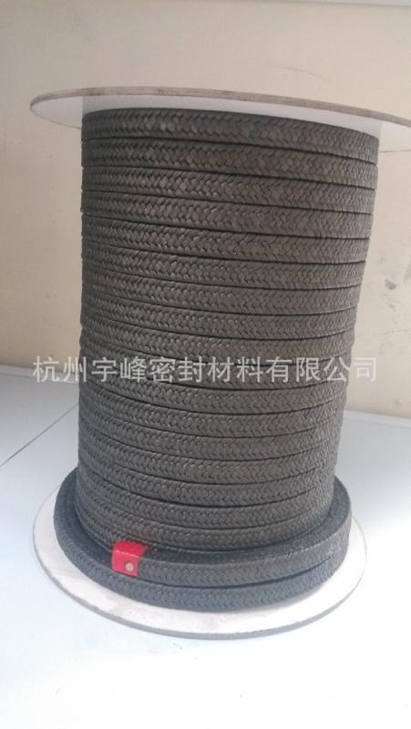 芳纶纤维编织盘根 浸四氟芳纶纤维盘根芳纶混编盘根