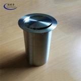 304不锈钢嵌入式圆筒垃圾桶