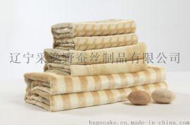 极丝厂家直供蚕丝毯 柞蚕丝毯  空调毯