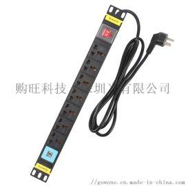 工业PDU机柜插座 插排插线 板接线板W10