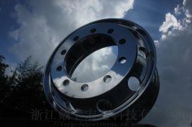 锻造铝合金卡车轮圈 卡客车铝轮 锻造挂车铝轮毂
