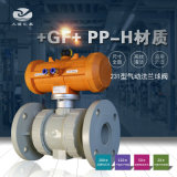 +GF+ 231型PPH气动法兰式球阀 工业阀门