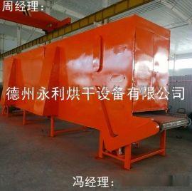 德州永利加工大型连续式烘干机 隧道式链板干燥设备