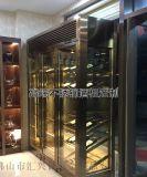 不鏽鋼恆溫酒櫃定制 不鏽鋼酒櫃多少錢