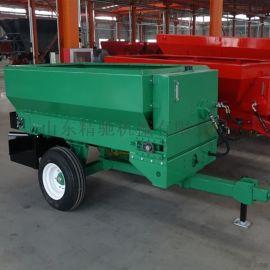 拖拉机带动撒肥机 大型撒肥机厂家
