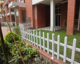 PVC塑钢护栏花园围栏户外绿化护栏小区栅栏