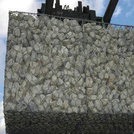 镀锌石笼网|PVC包塑石笼网|石笼网挡土墙