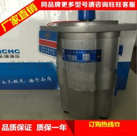 合肥长源液压齿轮泵725347左(法兰)先导泵①先导泵