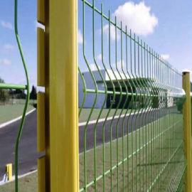 小区铁丝网价低质优 三角折弯护栏