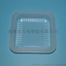 小方盒/10*10食品塑料盒/一次性pp食品内托