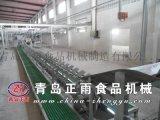 青岛正雨供应生猪屠宰设备预剥输送机剥皮线使用