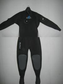 干式潜水服, 连体保暖干式潜水服, 潜水用品干式防寒服
